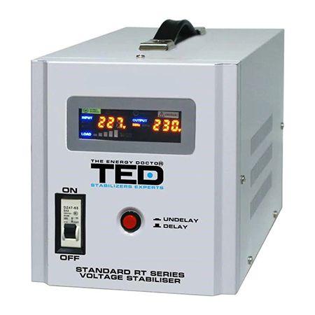 STABILIZATOR TENSIUNE AUTOMAT AVR 5000VA TED